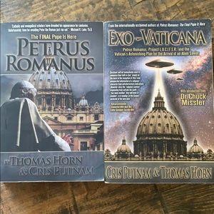 Cris Putnam & Thomas Horn books